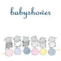 Babyshower blue